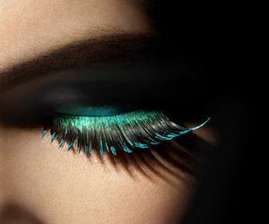 eyelashes, eyes, and eye image