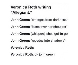 crying, funny, and divergent image
