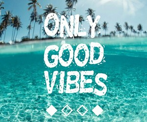 good, vibes, and beach image