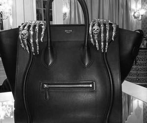 bag, celine, and black image