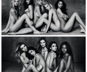 angels, ladies, and supermodels image