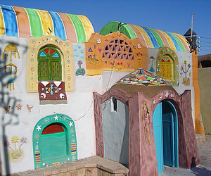 colors, egypt, and house image