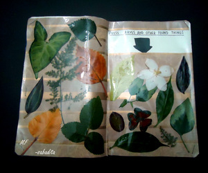 flower, ideas, and journal image
