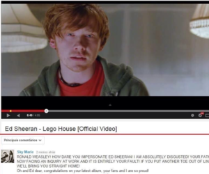 lol, ron weasley, and rupert grint image