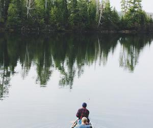 nature, lake, and wanderlust image