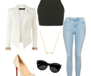 elegant, fashion, and outfit image