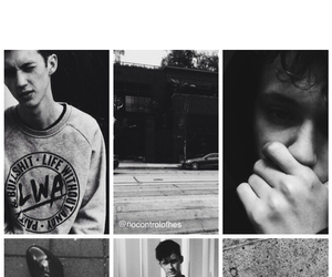 black, grunge, and troye sivan image