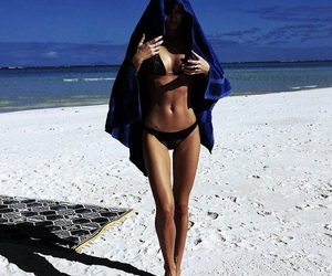 beach, tropical, and chic image