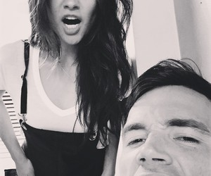 shay mitchell, ian harding, and pretty little liars image