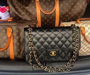 chanel, Louis Vuitton, and hermeslouboutinlouis image