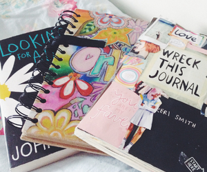 books, cath kidston, and floral image