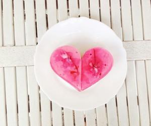 cake, cheesecake, and sakura image