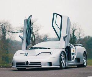 bugatti and eb110 ss image