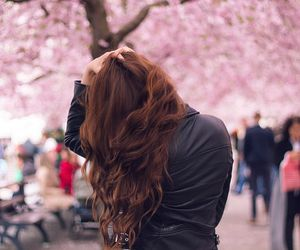 curls, fashion, and flowers image