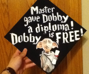 funny, graduation, and harrypotter image