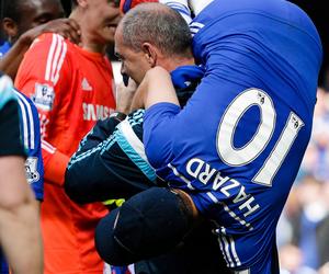 eden hazard and Chelsea image