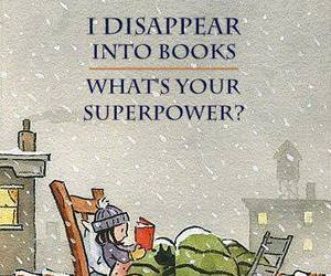 book, superpower, and quotes image