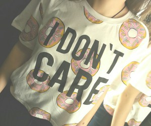 cool, donut, and fashion image