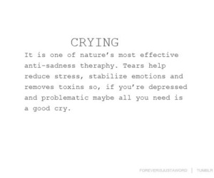 crying, quote, and text image