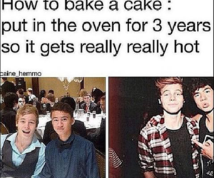 cake, 5sos, and luke hemmings image