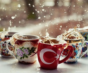 tea, cup, and turkey image