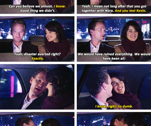 barney, kiss, and himym image