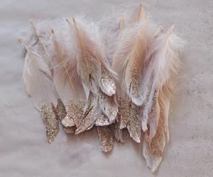feather, amazing, and glitter image