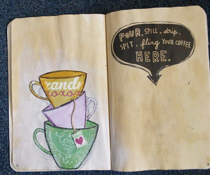 coffee, tea, and wreck this journal image