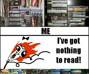 book, funny, and me image