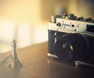 camera, paris, and photography image