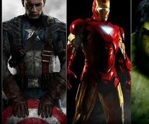 captain america, Hulk, and iron man image