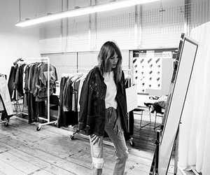 fashion, alexa chung, and black and white image