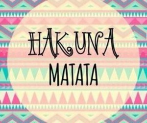 timon, tribal, and hakuna image