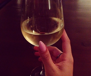 nails and wine image