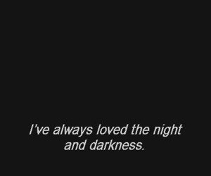 love, dark, and Darkness image