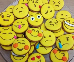 Cookies, emojis, and smile image