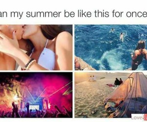 summer and beach image