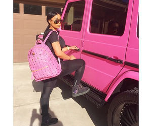 pink, car, and bag image