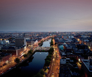 beautiful, city, and dublin image