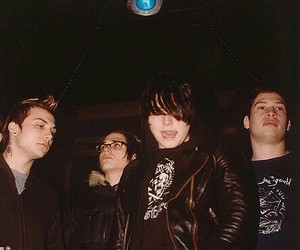 frank iero, gerard way, and mikey way image