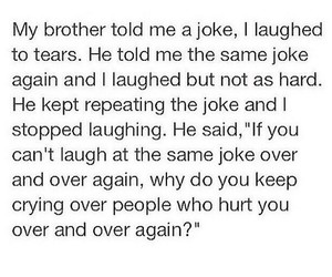 joke, cry, and quotes image
