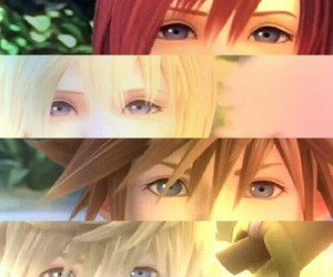 kingdom hearts, sora, and kairi image