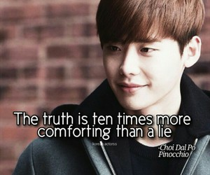 lies, pinocchio, and quote image