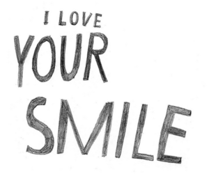 phrase, text, and smile image