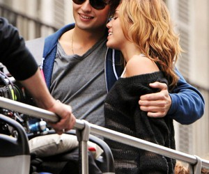 lol, miley cyrus, and douglas booth image