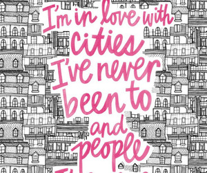 quotes, city, and people image