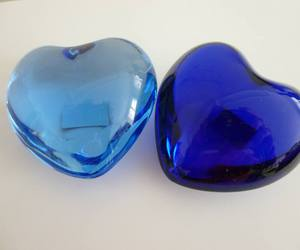 amour, Bleu, and coeur image
