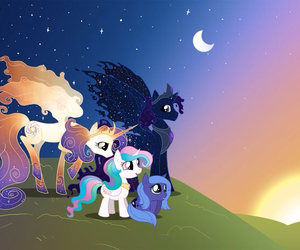 my little pony, MLP, and luna image