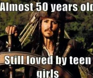 johnny depp, funny, and jack sparrow image