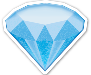 emoji, diamond, and png image